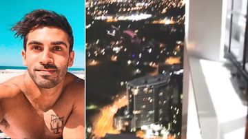Daredevil leaps from 50-storey building in heart-stopping video