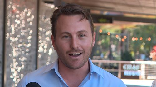 Uber NT Manager Alex Golden said demand from customers was behind the move. Picture: 9NEWS