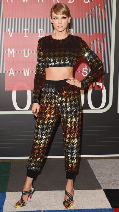 They might be the Video Music Awards, but there was some tough competition from fashion royalty when it came to the red carpet.