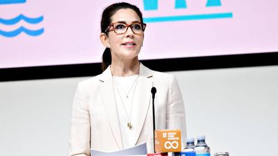 Crown Princess Mary opens United Nations conference, June 2021