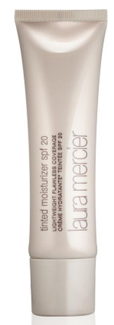 "<a href=""http://shop.davidjones.com.au/djs/en/davidjones/tinted-moisturiser"" target=""_blank"">Laura Mercier Tinted Moisturiser SPF 20 in Sand, $65.00</a>"