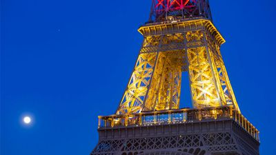 Paris is showing solidarity with Belgium in the wake of the terror attacks, only months after similar attacks shook their own city. (AAP)