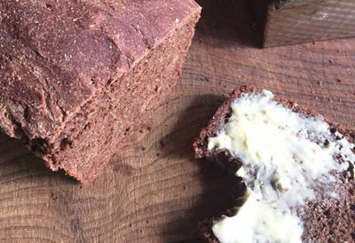 "Recipe: <a href=""https://kitchen.nine.com.au/2016/05/05/10/05/willie-harcourtcoozes-cacao-bread"" target=""_top"">Willie Harcourt-Cooze's cacao bread</a>"
