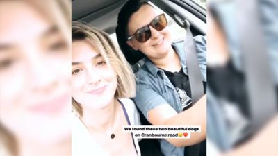 Alex Nation mocked by radio co-hosts for 'staging' paparazzi photos with Maegan Luxa