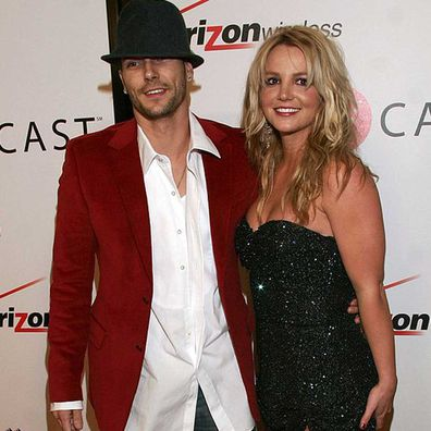 Britney Spears and Kevin Federline.