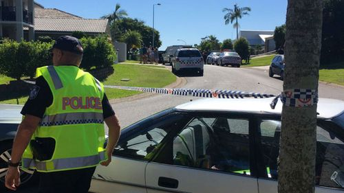 Man charged with murder over alleged stabbing death of his wife in Brisbane home