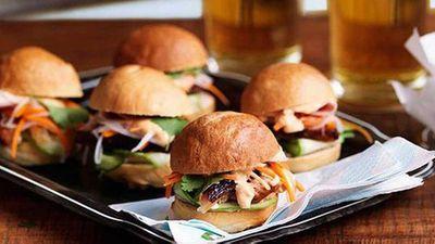 "<a href=""http://kitchen.nine.com.au/2016/05/13/12/51/ms-gs-mini-pork-banh-mi"" target=""_top"">Ms G's mini pork banh mi</a> recipe"