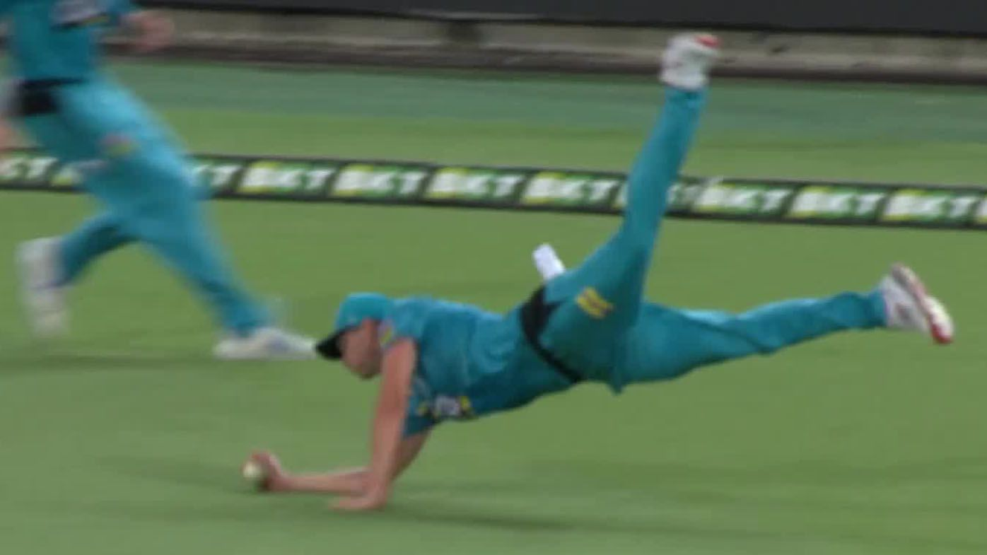 Brisbane Heat star Ben Laughlin submits astonishing contender for catch of BBL history