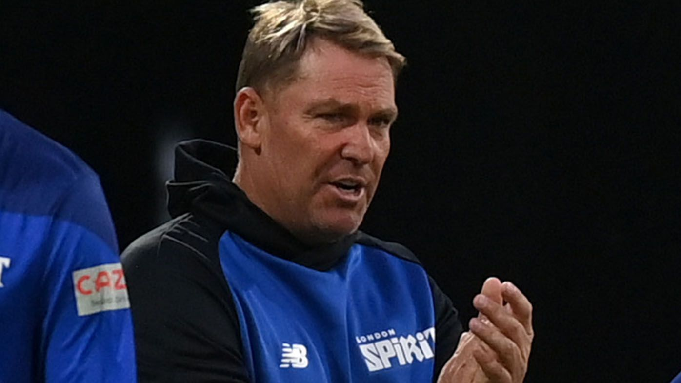 Shane Warne tests positive for COVID-19 while coaching in England cricket tournament
