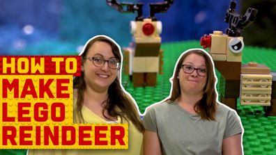 How to make a LEGO reindeer