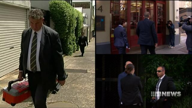 NRL player agents hit in police sting
