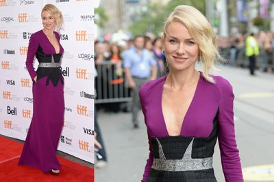 Aussie stunner Naomi Watts at the <i>While We're Young</i> premiere...