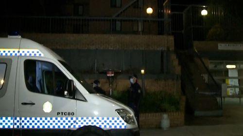 A Bondi apartment block has been put into hard lockdown.
