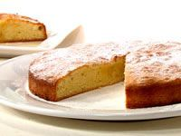 Lemon infused olive oil cake