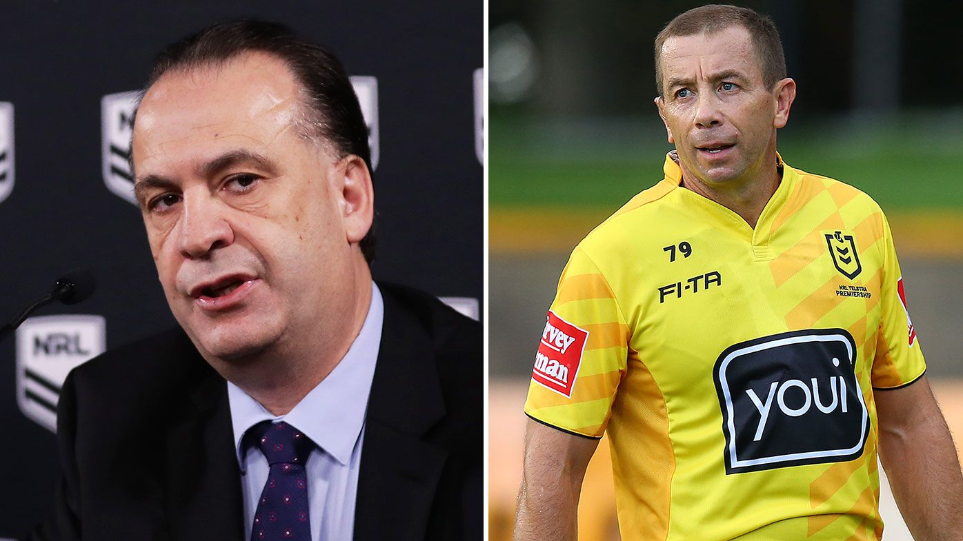 Peter V'landys adamant NRL can continue without top referees