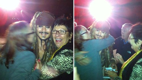 Johnny Depp leaves NSW woman feeling electric after offering to pay her power bill