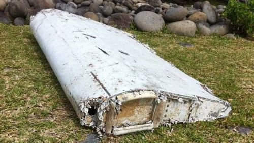The piece of wreckage was found on the French island of La Reunion. (9NEWS)