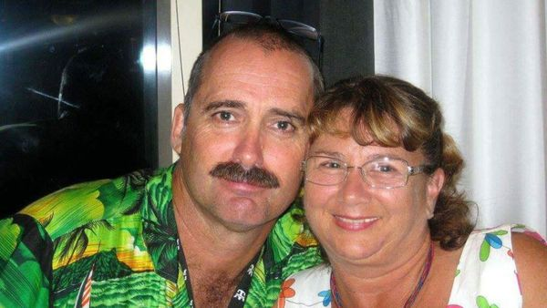 Debbie and John