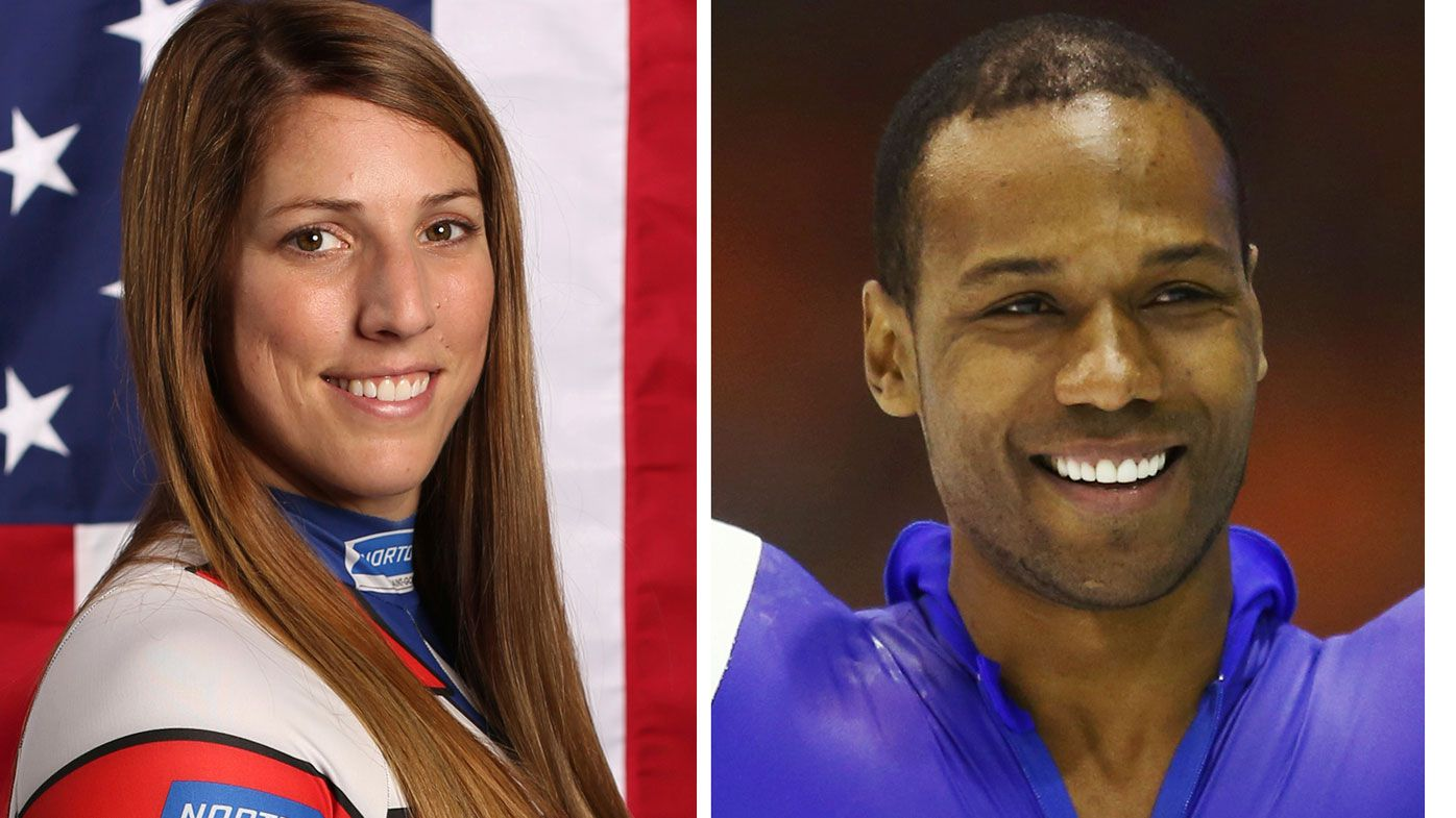 US speed skater Shani Davis snubs Winter Olympics opening ceremony over flag spat