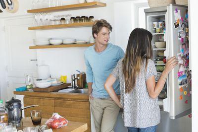 3. Empty the fridge once a week