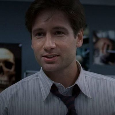 David Duchovny as Fox Mulder: Then