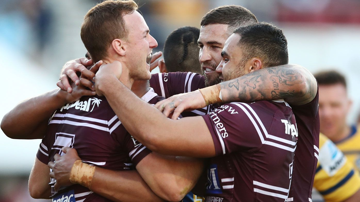 NRL: Manly Sea Eagles storm to crucial victory over Parramatta Eels