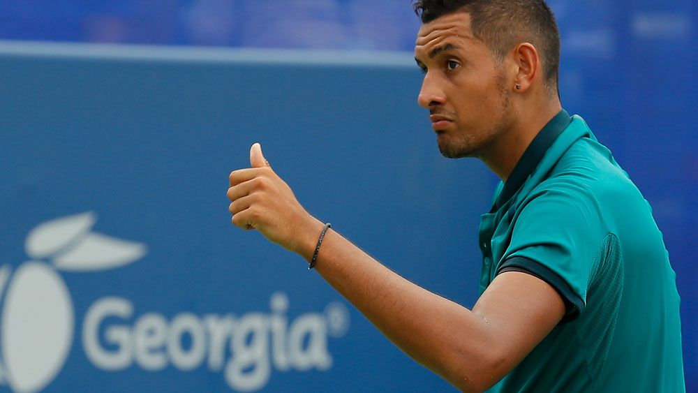 Nick Kyrgios is ready for the US Open. (Getty Images)