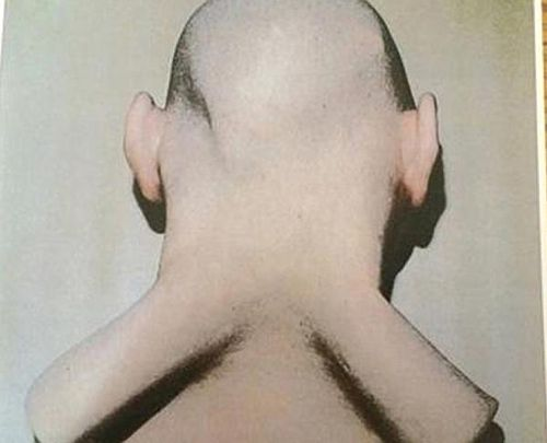 A rear view of the uncanny mask. (Supplied)