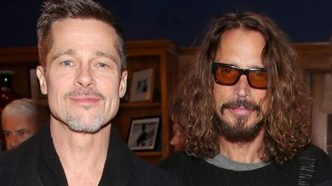 Brad Pitt, Chris Cornell attend ROCK4EB! charity event,
