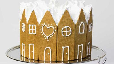 Kirsten Tibballs' gingerbread Christmas cake recipe
