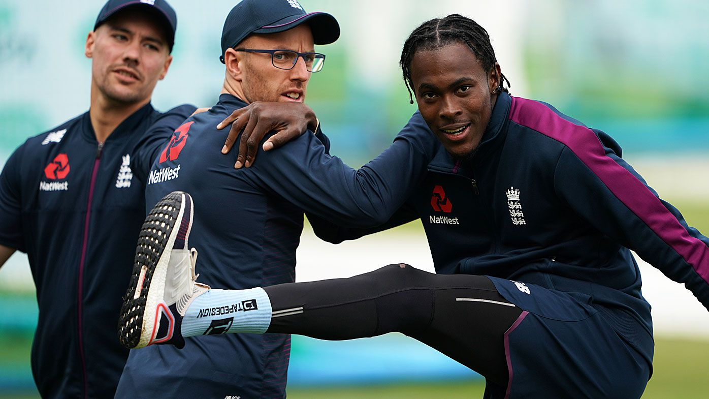 Jofra Archer at England training