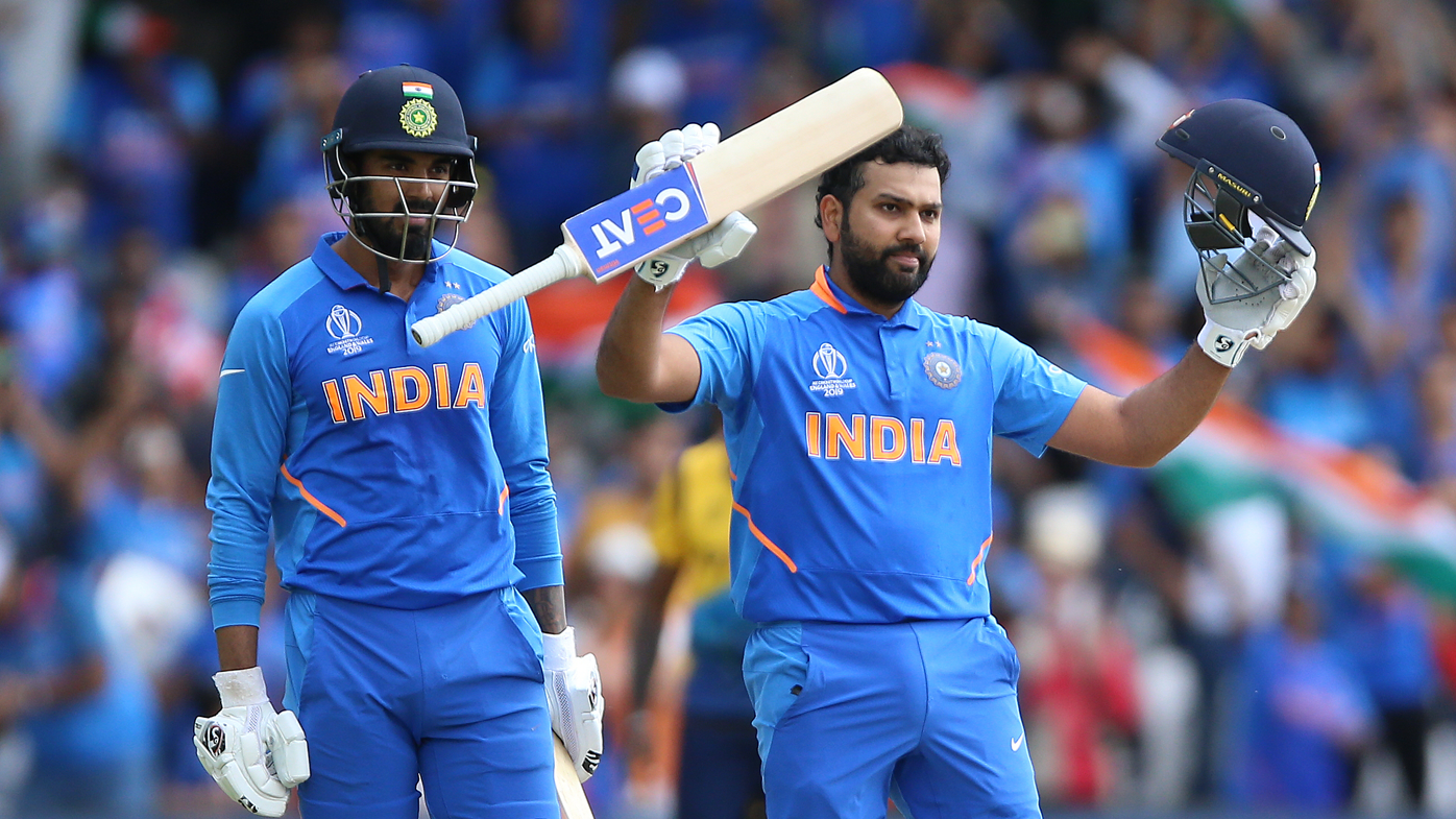 Rohit Sharma breaks World Cup centuries record as India crushes Sri Lanka