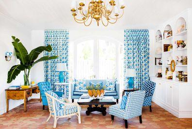 Halcyon House day spa lounge area