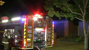 Two teenagers have been left with severe burns following a house fire in Brisbane's north.
