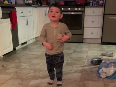 Mum records toddler's sweet exchange with Alexa device