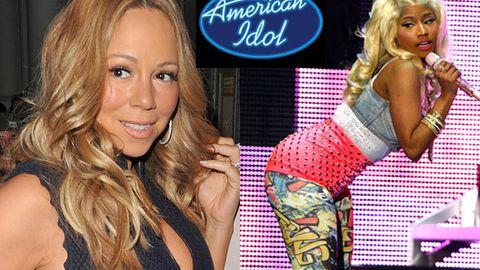 Mariah Carey flips out about Nicki Minaj joining <i>American Idol</i>
