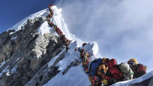 Eleven people have died on Mount Everest this year.