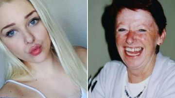 Bianca Harrington (left) has avoided a drug-driving conviction over the car crash that Kay Shaylor (right) died in.