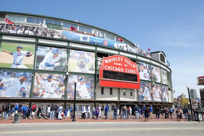 13. Wrigley Field in Chicago, Illinois