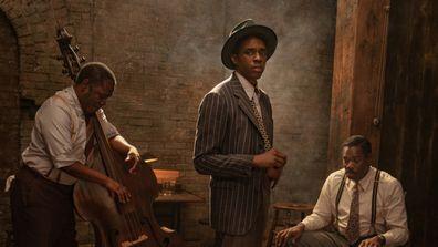 Chadwick Boseman in his final film, Ma Rainey's Black Bottom