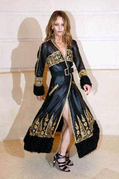 Vanessa Paradis at Chanel Metiers d'Art 2016/17