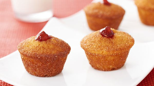 Best cinnamon doughnut mini cupcakes