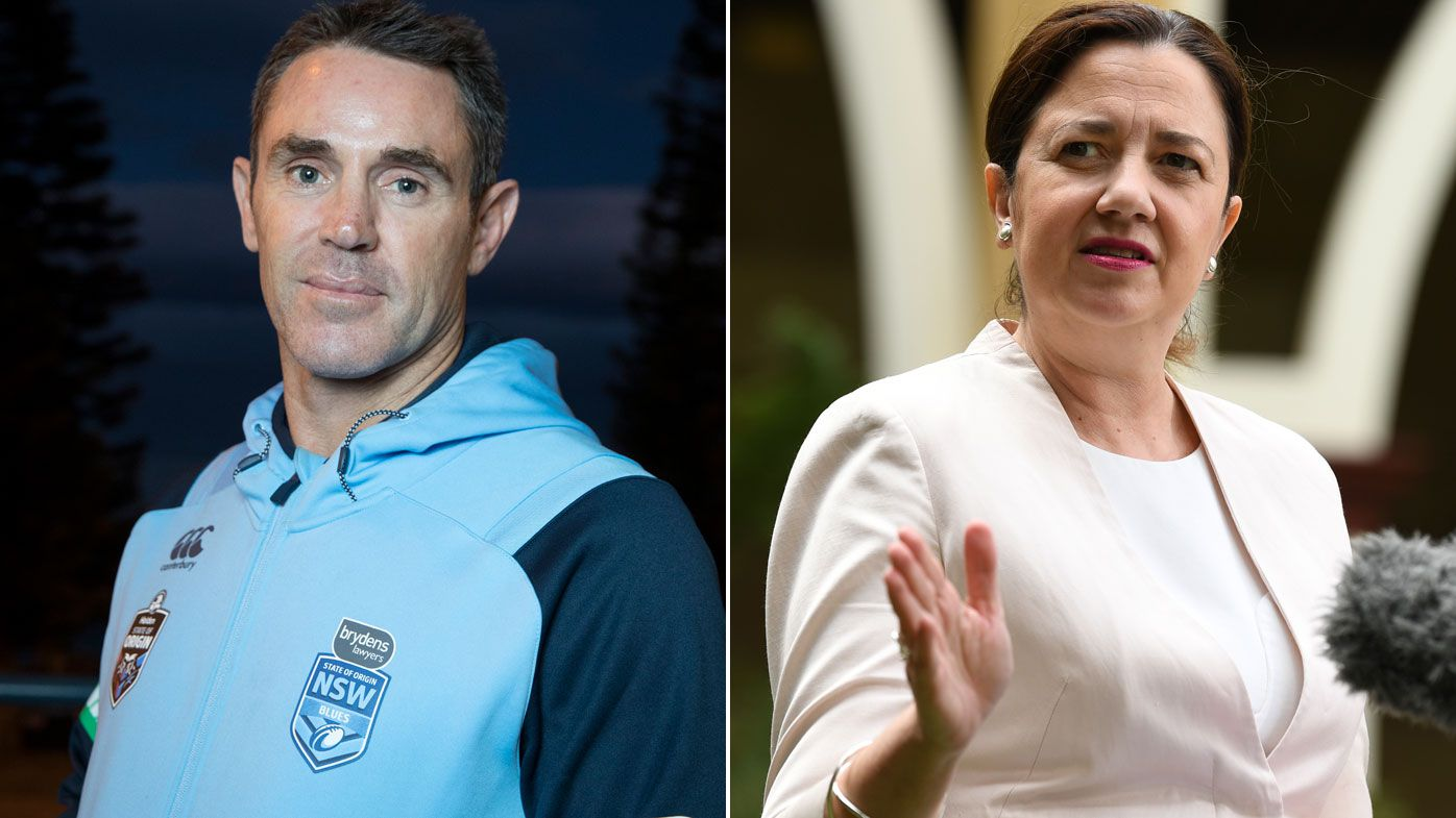 Exclusive: 'I find it ludicrous': NSW coach Brad Fittler takes another shot at Queensland premier Annastacia Palaszczuk