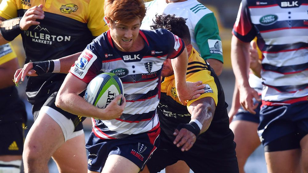 Nic Stirzaker and the Rebels face an uncertain future. (AAP)