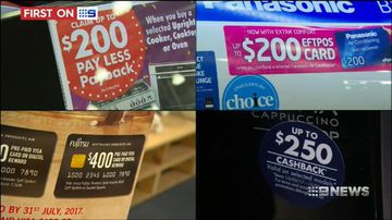 Cashback deals offer shoppers discounts at the checkout