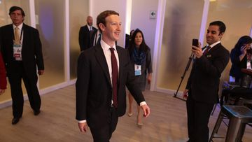 Chief Executive Officer of Facebook, Mark Zuckerberg attends the APEC CEO Summit in Lima, Peru on November 19, 2016. (AFP)