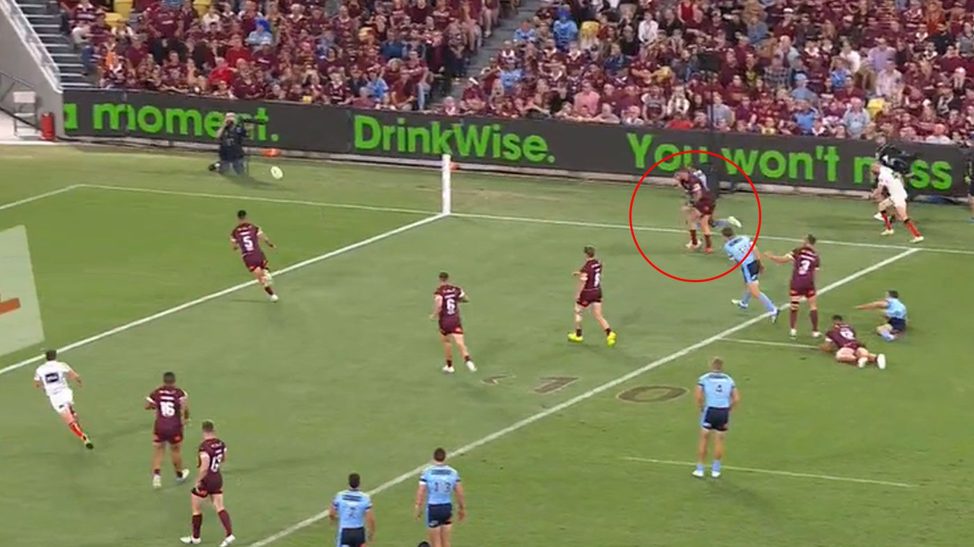 'Totally unnecessary': Kyle Feldt's defensive brain fade costs Queensland dearly in Origin opener