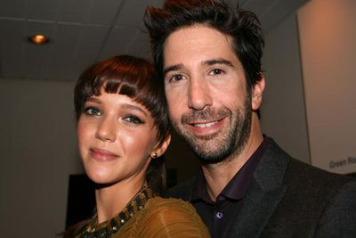 <i>Friends</i> star David Schwimmer married British girlfriend Zoe Buckman at a private ceremony in June.