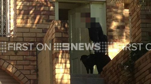 Police executed a search warrant at Mount Gravatt East. (9NEWS)
