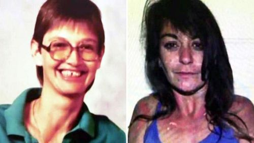 Photos supplied by Texas police of Audrey Cook (left) and Donna Prudhomme.